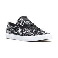 4/20 Reefer Madness Brilliant Low in Black - FOOTWEAR