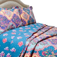 Pegasus Home Fashions Vintage Collection Isabella Quilt/Sham Set, King