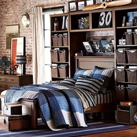 York Preppy Patchwork Bedroom
