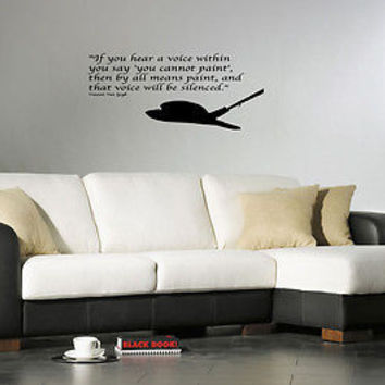 By All Means Paint quote wall sticker quote decal wall art decor 5478
