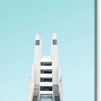 Urban Architecture  The Brunswick Centre, London, United Kingdom - Canvas Print