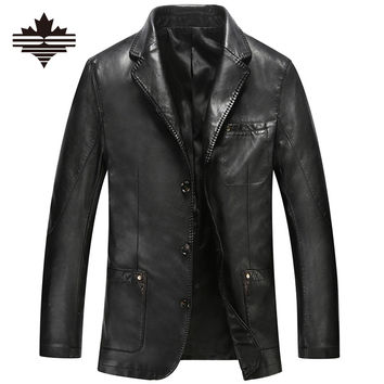 Fashion Men's Leather Jacket
