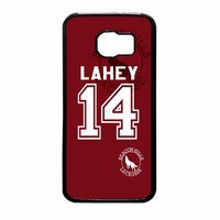 Teen Wolf Isaac Lahey Lacrosse Jersey Samsung Galaxy S6 Case