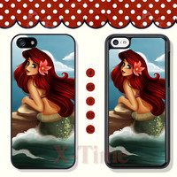 Disney, little mermaid, iPhone 5 case iPhone 5c case iPhone 5s case iPhone 4 case iPhone 4s case, Samsung Galaxy S3 \S4 Case --X50422