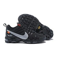 Nike Air Max Plus Tn Ultra x Off-White Black Running Shoes