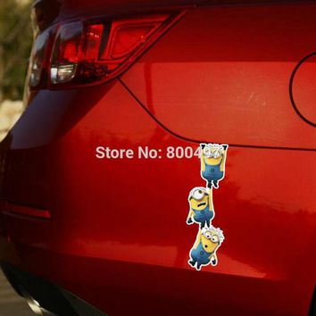 Newest Minions Despicable Me Jerry Phil Jorge Body Stickers Car Decal for Toyota  Chevrolet Volkswagen Tesla  Kia Lada