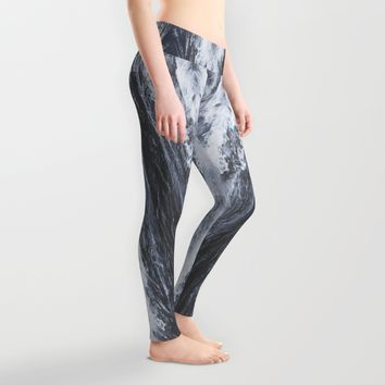 Lost in the sea Leggings by HappyMelvin | Society6