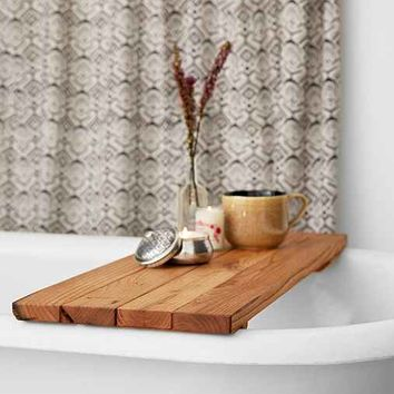 Peg And Awl Reclaimed Wood Tub Caddy