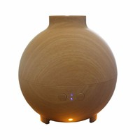 625ml Essential Oil Diffuser Aroma Diffuser Ultrasonic Humidifier Mist Maker Aromatherapy Air Purifier Woodgrain For home Office