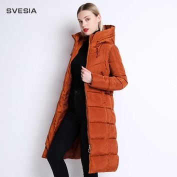 Winter Jackets Coats Women's Long Warm Thickening Hooded Parka Female Befree Outerwear Coats Vintage Parks Jaqueta Feminina