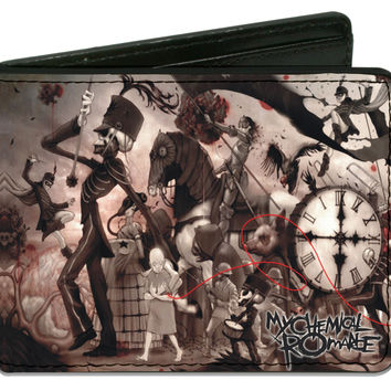 My Chemical Romance Men's The Black Parade Bi-Fold Wallet