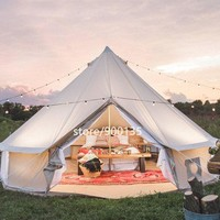 """Waterproof Cotton Canvas Bell """"Glamping Tent"""" / Sun Shelter"""