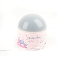 Little Twin Stars Projector Domed Room Lamp: Moon and Stars