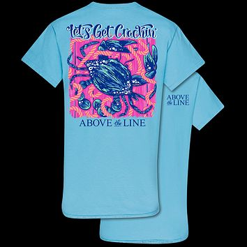 Couture Above The Line Classic Let's Get Crackin Crab T-Shirt