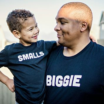 Biggie Smalls Matching Unisex Adult Jersey Tee (BIGGIE TEE - ADULT)