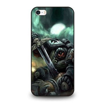 warhammer black templar iphone se case cover  number 1