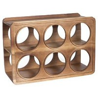 Acacia Wood Wine Rack - Threshold™ : Target