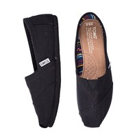 Toms CLASSICS - BLACK/BLACK | Boathouse Stores
