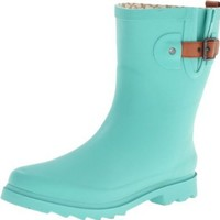 Chooka Women's Top Solid Mid Boot,Mint,7 M US