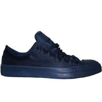 MDIG91W Converse All Star Chuck Taylor Nylon Mono Lo - Midnight Low Top Sneaker