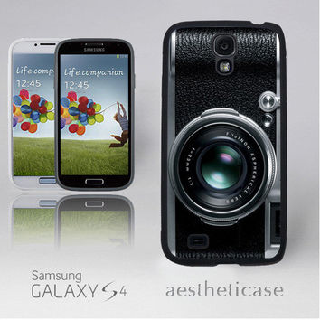 Vintage Camera Galaxy s4 Case Fuji Camera Photographer s4 Rubber Case iPhone 5 Back Cover --000107
