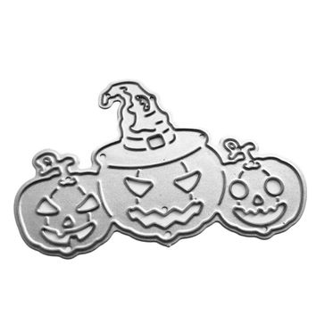 Halloween Pumpkin Metal Dies Cutting Embossing Scrapbooking Hand Craft Die Cut Create Stamps Card Stencil