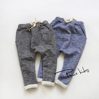 2015 Hot children pants fashion boy girl trousers kid cotton baby harem pants Kids 2-7Y children's clothing meninas boys pants