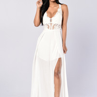 Love and Sunshine Dress - White