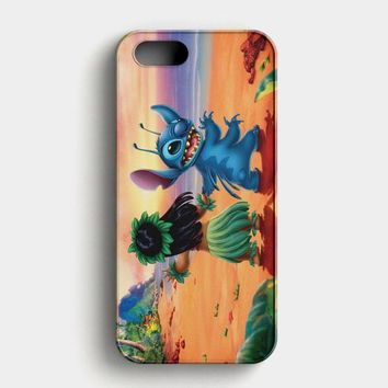 Lilo Stitch Disney iPhone SE Case