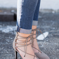 Bauble Lace Up Heel