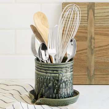 Utensil Draining Caddy | Spoon Holder
