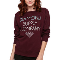 Diamond Supply Co Pullover Crew Fleece at PacSun.com