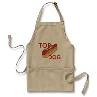 APRON CHEFS APRON FOR TOP DOG KHAKI