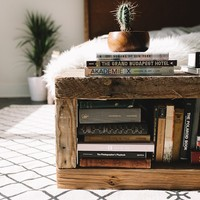 Urban Outfitters - Blog - UO DIY: Reclaimed Book Bench