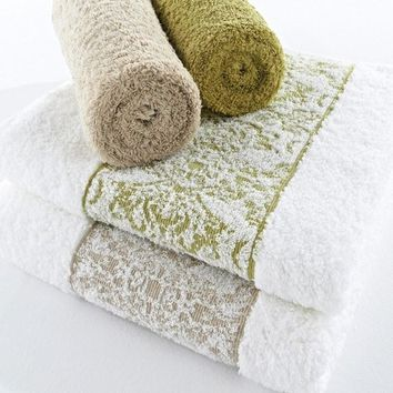 Nymphea Towels by Abyss and Habidecor