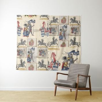 knight combo ver 3 tapestry