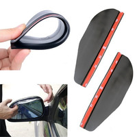 2 Car Rear View Side Mirror Rainwater Shower Blocker Cover Sun Visor Shade  D_L = 1712906628