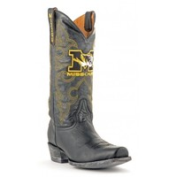 Gameday Boots Mens Leather University Of Missouri Board Room Cowboy Boots