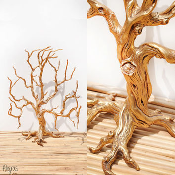 Tree Sculpture // Vintage Tree of Life Sculpture // Bohemian Home Decor // Wall Hanging