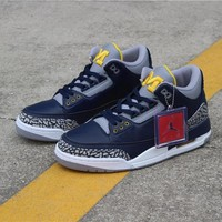Air Jordan 3 Michigan PE - Best Deal Online