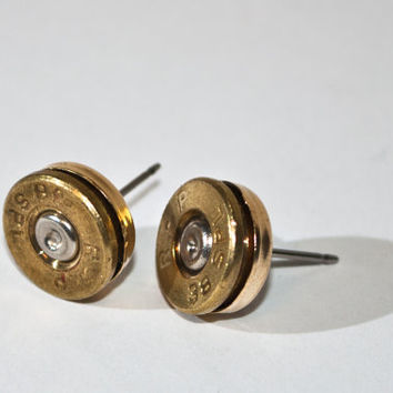 Bullet Studs -Gunpowder and Glitz Bullet Studs- Brass