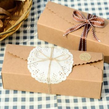 Freeshipping Selling Cardboard Caixa Macaron Packaging Kraft Paper Boxes Jewelry 50pcs/.**.