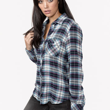Olivia Plaid Shirt