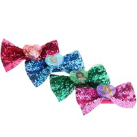 Disney Princess 4 Pack Glitter Hair Bows