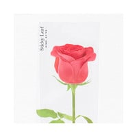Appree Red rose sticky memo notes