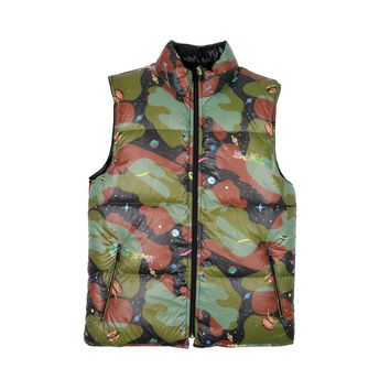 Billionaire Boys Club REVERSIBLE NYLON PUFFA VEST - Billionaire Boys Club