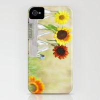 Country life sunflower idyll iPhone Case by Tanja Riedel | Society6