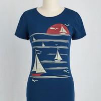 All's Fair in Love and Wharf T-Shirt | Mod Retro Vintage Sweaters | ModCloth.com