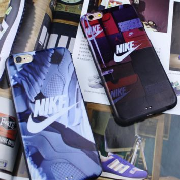 Fashion Nike Printed Iphone 7 7plus & 6 6s Plus Sports Cover Case