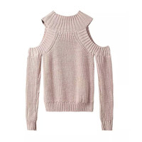Women's Sexy Should Cut Out Long Sleeves Sweater